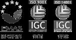 EMAS - ES-CAT-275 | Empresa certificada per IGC - ISO 9001 | Empresa certificada per IGC - ISO 14001