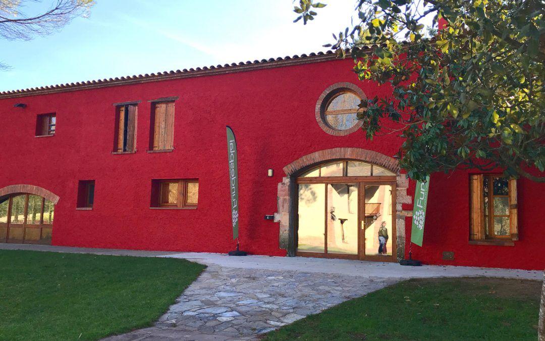 Els Porxos casa de colònies Pantà de SAU