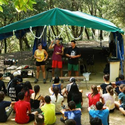 Campaments de Voluntariat Ambiental a Can Massaguer 2019