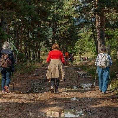 Natura i descoberta; majors de 60 anys