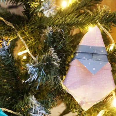 4 decoracions de Nadal amb papiroflèxia