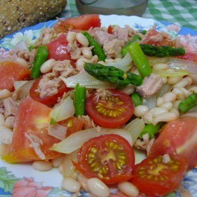 Recepta: Amanida de mongeta seca amb tonyina